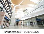 interior of the airport in... | Shutterstock . vector #105780821