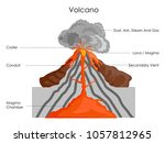 education chart of science for... | Shutterstock .eps vector #1057812965