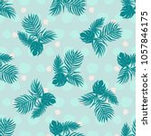 floral  seamless pattern... | Shutterstock .eps vector #1057846175