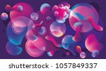 3d abstract background on the...