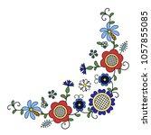 traditional  modern polish  ... | Shutterstock .eps vector #1057855085