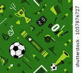 soccer football abstract... | Shutterstock .eps vector #1057876727