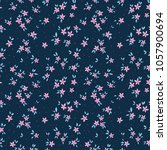 vintage floral background.... | Shutterstock .eps vector #1057900694