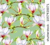 watercolor seamless pattern... | Shutterstock . vector #1057920071