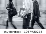 abstract image of business... | Shutterstock . vector #1057930295