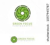 simple modern nature... | Shutterstock .eps vector #1057945787