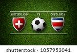 football match schedule ... | Shutterstock . vector #1057953041