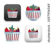 illustration of shopping basket ... | Shutterstock .eps vector #1057956569