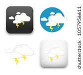 flat vector icon   illustration ... | Shutterstock .eps vector #1057956611