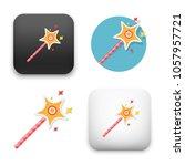flat vector icon   illustration ... | Shutterstock .eps vector #1057957721