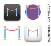 flat vector icon   illustration ... | Shutterstock .eps vector #1057957727