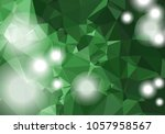 abstract low poly triangular... | Shutterstock .eps vector #1057958567