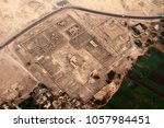 aerial view flying over ancient ... | Shutterstock . vector #1057984451