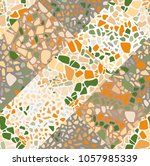 seamless abstract pattern in... | Shutterstock .eps vector #1057985339