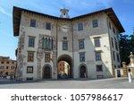 pisa  italy  tuscany. august 30 ... | Shutterstock . vector #1057986617