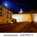 Eivissa Ibiza Town With Night...