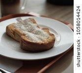 ugar over toast