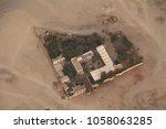 aerial view of a houses in the... | Shutterstock . vector #1058063285