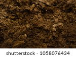 texture of brown agrictultural... | Shutterstock . vector #1058076434