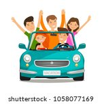 vacation  journey concept.... | Shutterstock .eps vector #1058077169