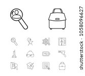 package icons set with seo  lab ...