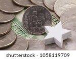 a quarter of alabama  quarters... | Shutterstock . vector #1058119709