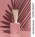 natural cosmetic cream   serum  ... | Shutterstock . vector #1058128307