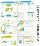 infographic demographics ...   Shutterstock . vector #105813554
