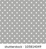 Seamless Gray Polka Dot...
