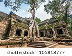 Classical Picture Of Ta Prohm...