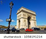 paris  france   october 20 ... | Shutterstock . vector #1058191214