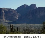 Superstition Mountain With Flat ...