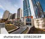 chicago  il   march 21st  2018  ... | Shutterstock . vector #1058228189