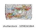 sultan qaboos grand mosque in...   Shutterstock .eps vector #1058261864