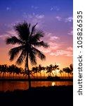 Hawaiian Sunset On Big Island...