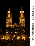 campeche church at night | Shutterstock . vector #10582723