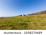isle of wight  england  green... | Shutterstock . vector #1058274689