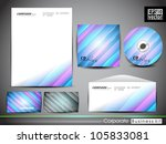 professional corporate identity ... | Shutterstock .eps vector #105833081