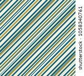 a trendy retro striped fashion... | Shutterstock . vector #1058340761