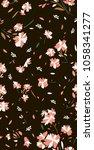 color block geometric flower | Shutterstock . vector #1058341277