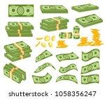 Set A Various Kind Of Money....