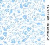 fantasy and fresh marine vector ... | Shutterstock .eps vector #105835751