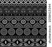 seamless native pattern... | Shutterstock .eps vector #1058415344
