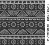 seamless native pattern... | Shutterstock .eps vector #1058415347
