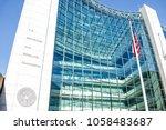 washington dc  usa   january 13 ... | Shutterstock . vector #1058483687