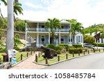 former naval officer's house ... | Shutterstock . vector #1058485784