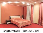 interior of hotel room  hotel ... | Shutterstock . vector #1058512121