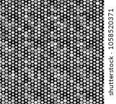 hexagon silver seamless pattern.... | Shutterstock .eps vector #1058520371