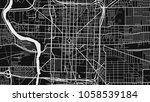 map city indianopolis   Shutterstock .eps vector #1058539184