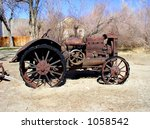 And Old Tractor